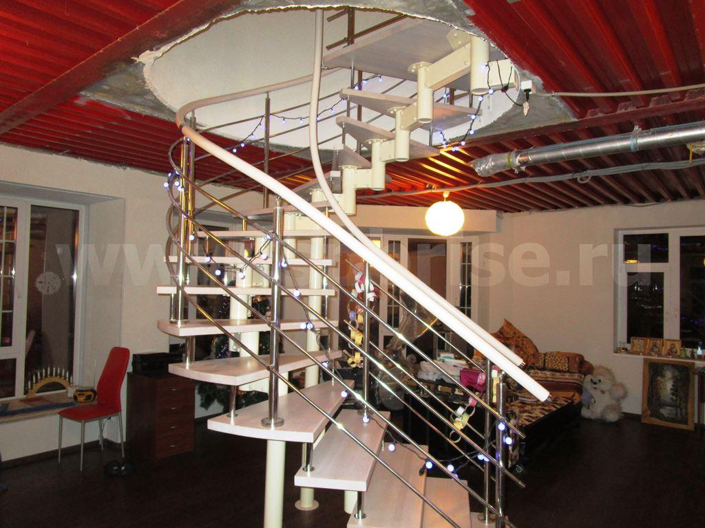 современные лестницы на второй этаж фото